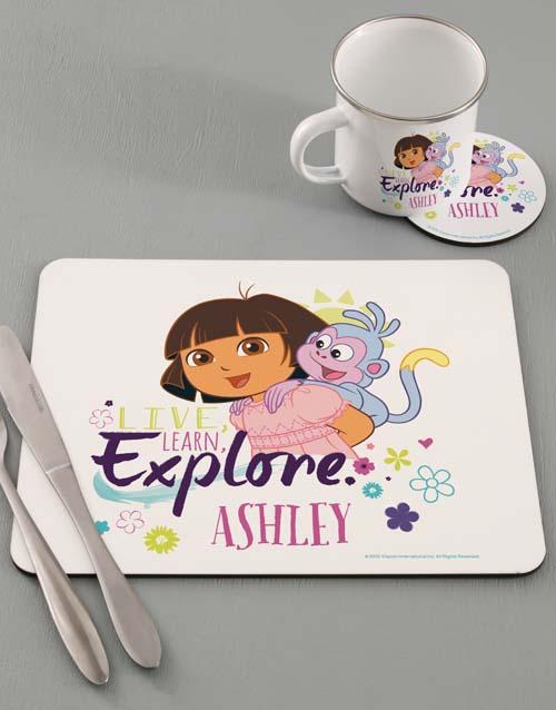 kids: Personalised Explore Dinner Set!