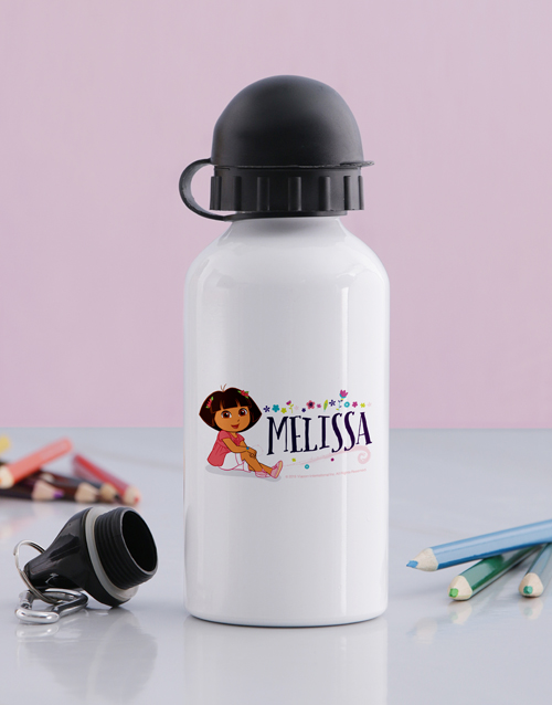 personalised: Personalised Dora Water Bottle!