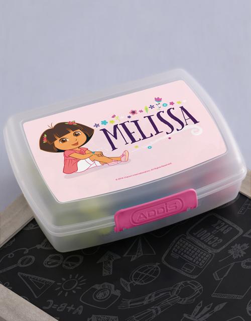 kids: Personalised Dora Lunchbox!