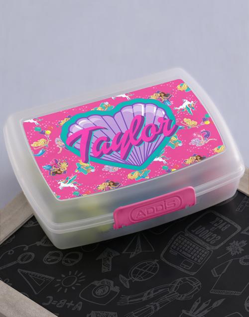 personalised: Personalised Barbie Friends Lunchbox!