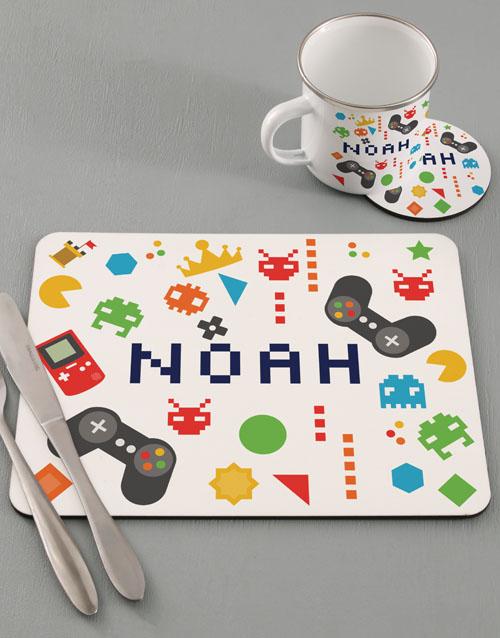 kids: Personalised Gamer Kids Kitchen Set!