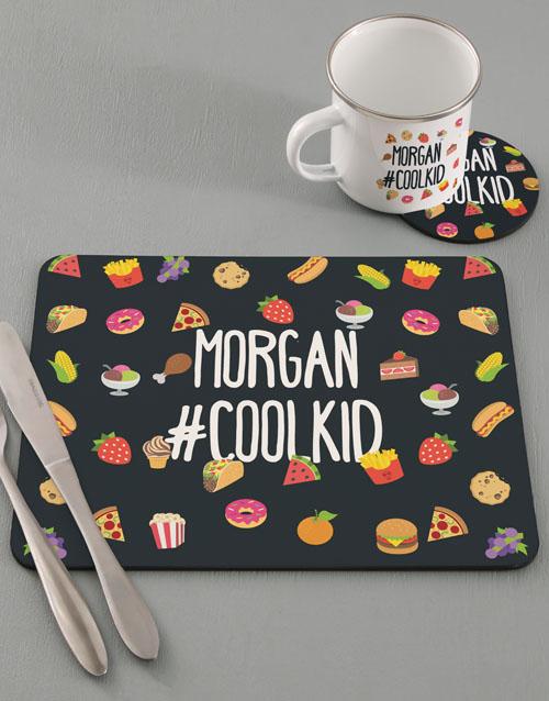 kids: Personalised Cool Kids Kitchen Set!
