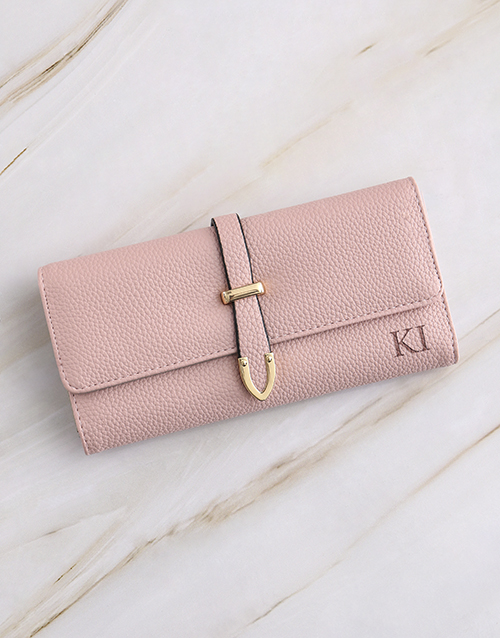 personalised: Personalised Pink Long Purse!