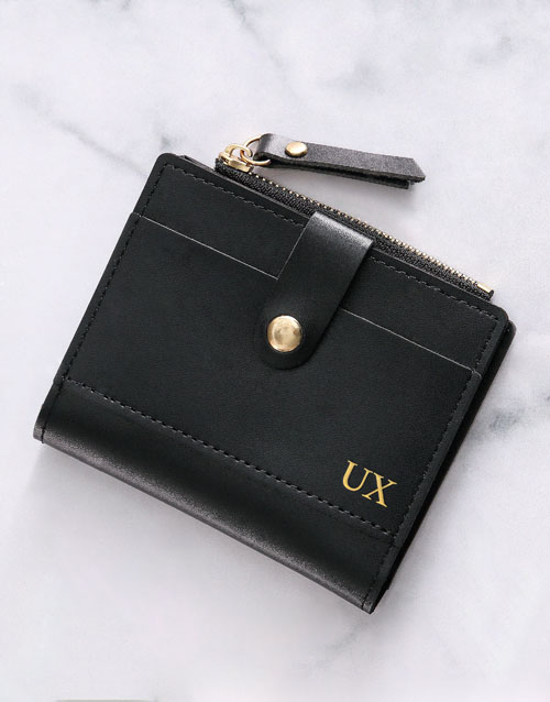 personalised: Personalised Black Short Purse!