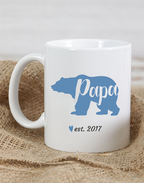 personalised: Personalised Papa Bear Mug!