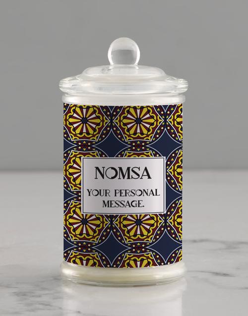 bath-and-body: Personalised Batik Candle Jar!