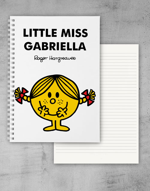 personalised: Personalised Little Miss Sunshine Notebook!