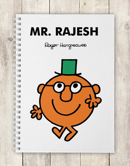 fathers-day: Personalised Mr Clever Notebook!