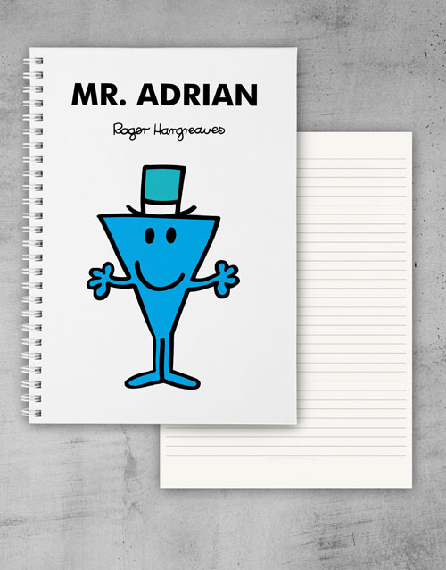 fathers-day: Personalised Mr Cool Notebook!