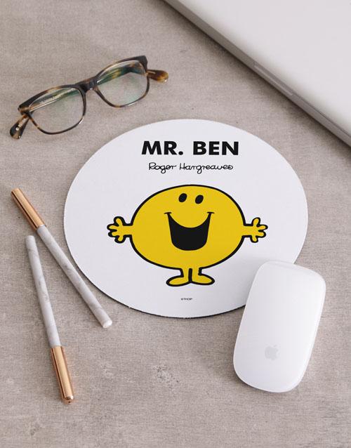 personalised: Personalised Mr Happy Mousepad!