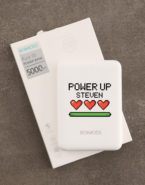gadgets: Personalised Power Up Romoss Power Bank!