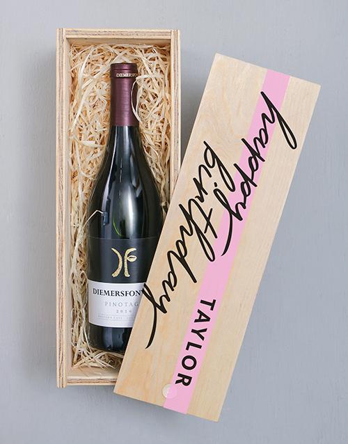 personalised: Personalised Diemersfontein Printed Crate!