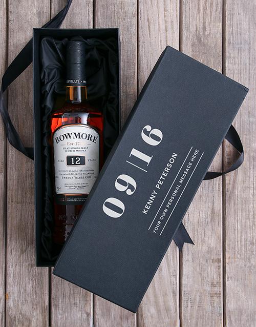 personalised: Personalised Bowmore Giftbox!