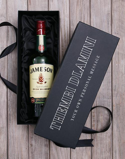 bosses-day: Personalised Jameson Irish Whiskey Wine Giftbox!