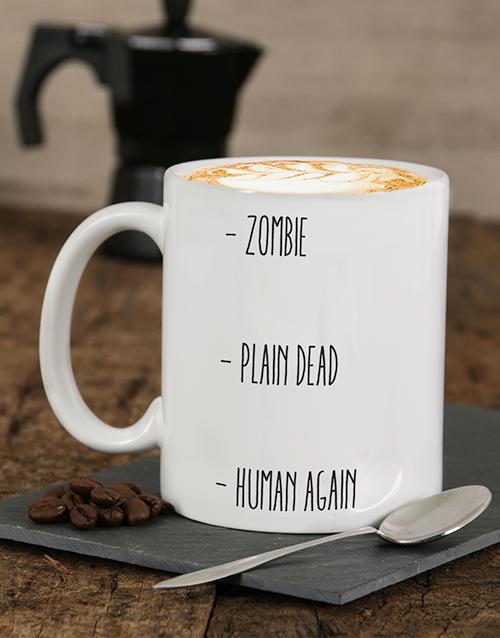 personalised: Personalised Human Again Mug!