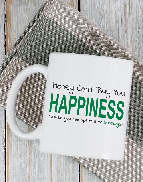 personalised: Personalised Buy Happiness Mug!