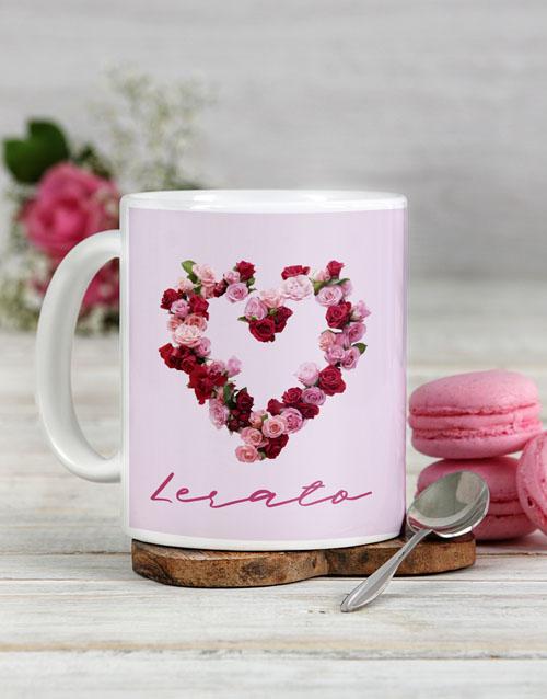 homeware: Personalised Rosy Love Mug!