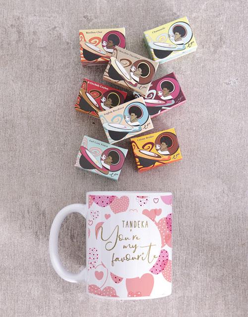 homeware: Personalised Favourite Heart Mug!