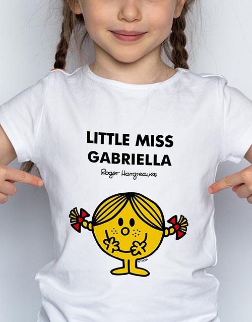 personalised: Personalised Miss Sunshine Kids T Shirt!