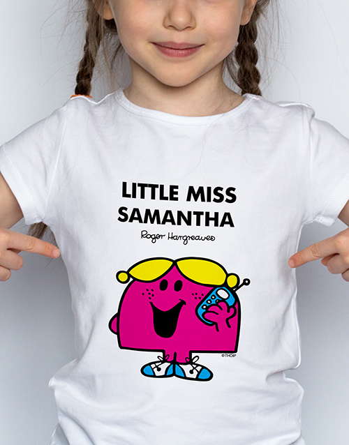 personalised: Personalised Chatterbox Kids T Shirt!