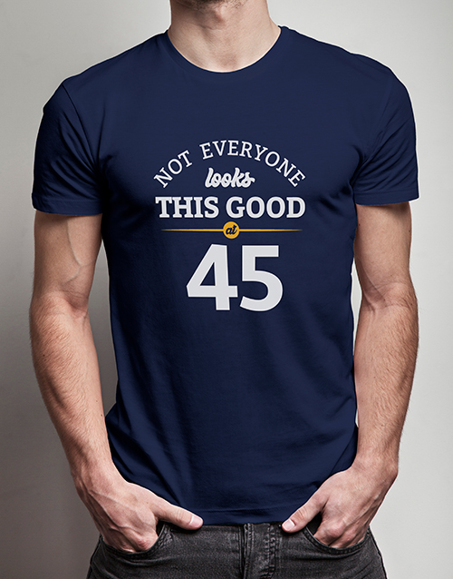 clothing: Personalised Look This Good T Shirt!