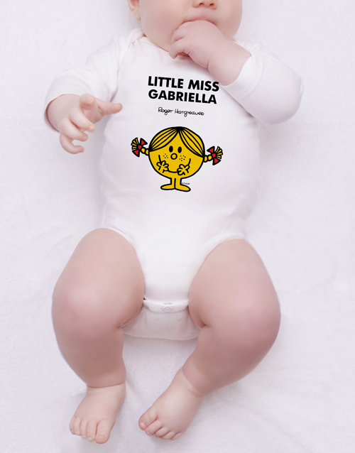 personalised: Personalised Little Miss Sunshine Onesie!