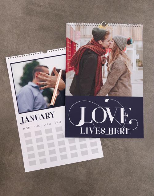 christmas: Personalised Love Wall Calendar!