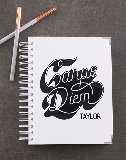 fathers-day: Personalised Carpe Diem Diary!