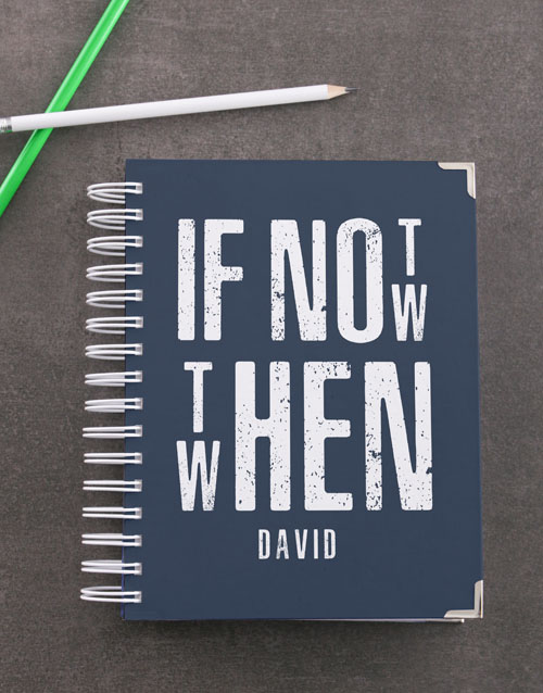 personalised: Personalised Not Now Diary!