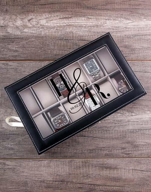 christmas: Personalised Anniversary Watch Box!