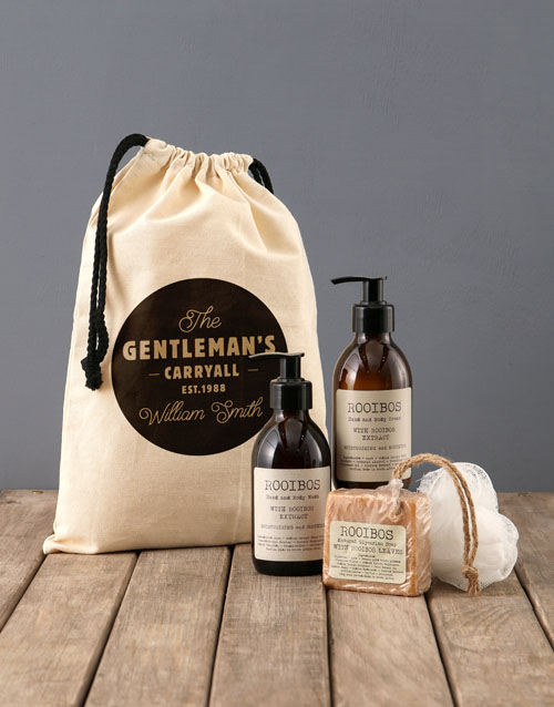 bath-and-body: Personalised Gentleman Rooibos Bath Time Bag!
