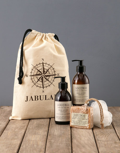 bath-and-body: Personalised Compass Rooibos Bath Time Bag!