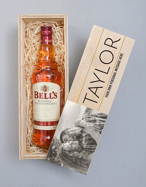 fathers-day: Personalised Photo Bells Crate!
