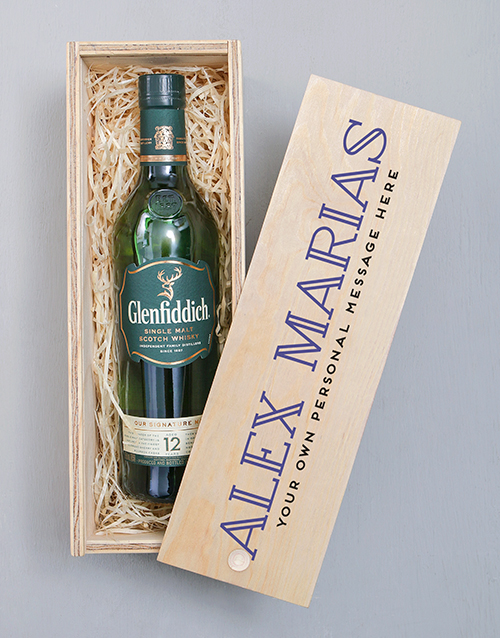 rosh-hashanah: Personalised Couples Photo Glenfiddich Crate!