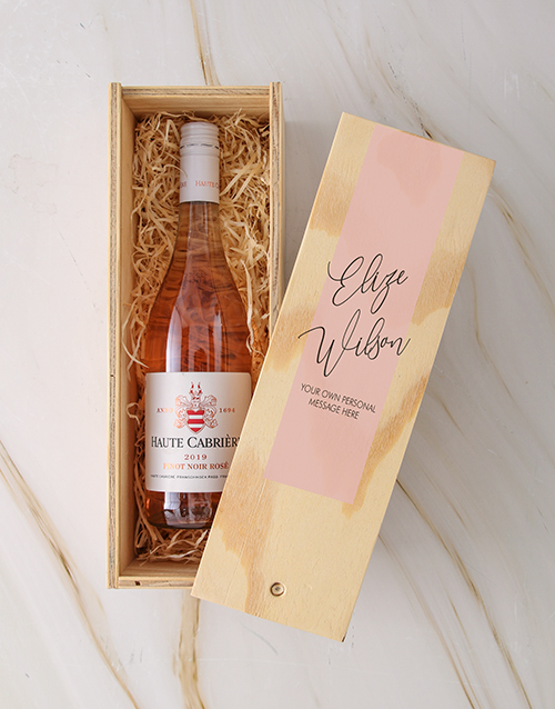 bosses-day: Personalised Classic Haute Cabriere Rose Crate!