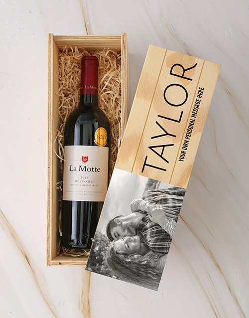 valentines-day: Personalised Photo La Motte Crate!