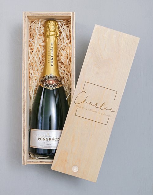 valentines-day: Personalised Classic Pongracz Crate!