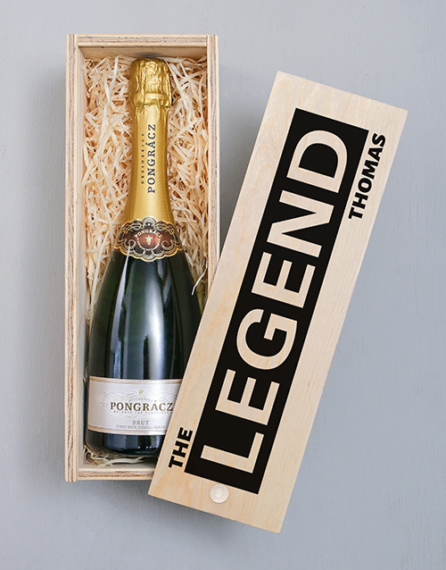 bosses-day: Personalised Legend Pongracz Crate!