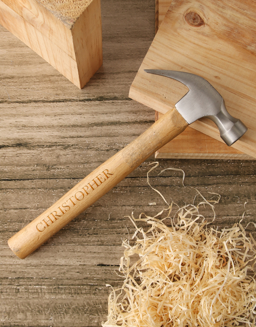 valentines-day: Personalised Hammer And Tool Box Gift!