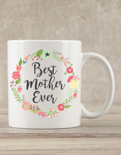 mothers-day: Personalised Best Mother Ever Mug!