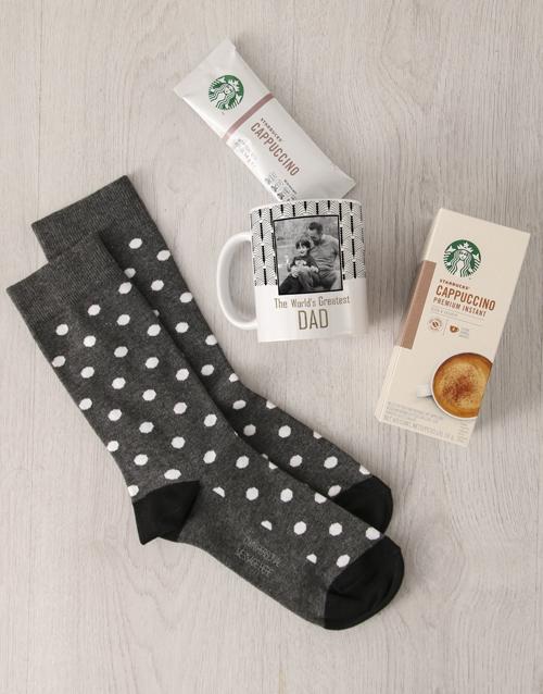 apparel: Personalised Greatest Dad Sock Hamper!