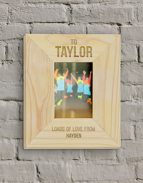 home-decor: Personalised To You Photo Frame!
