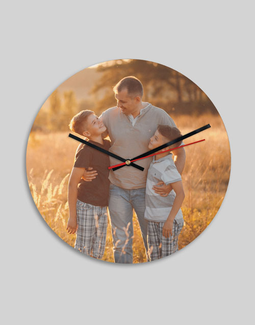 home-decor: Personalised Picture Perfect Clock!