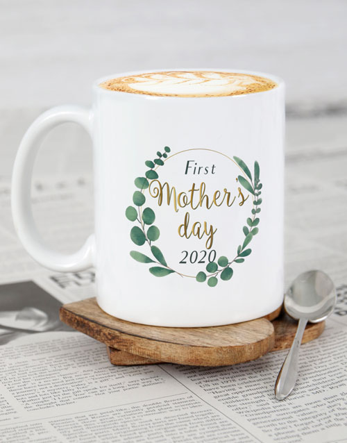 house-warming: Personalised First Mothers Day Mug!