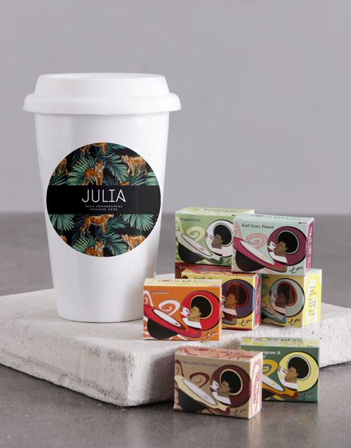 homeware: Personalised Jungle Travel Mug!