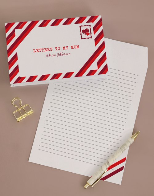 mothers-day: Personalised Letters To Mom Notebook!