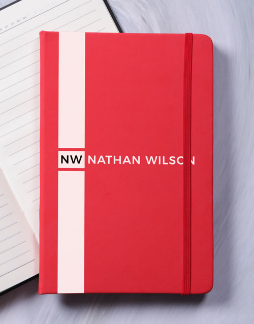 bosses-day: Personalised Sporty Hardcover Journal!
