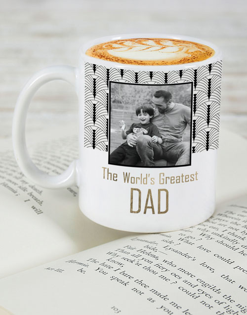 homeware: Personalised Worlds Greatest Dad Mug!