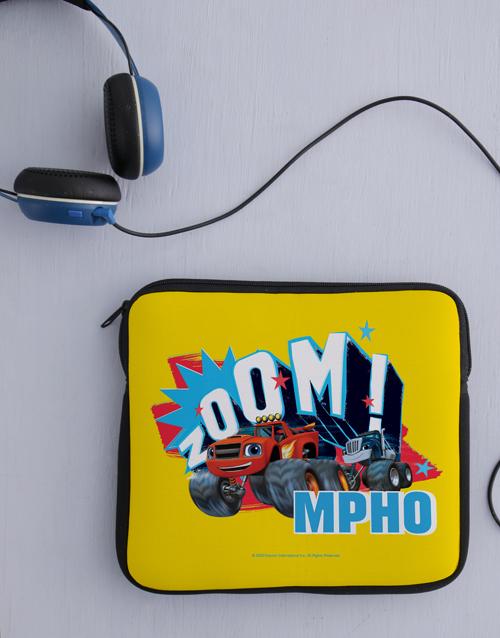 christmas: Personalised Zoom Wheels Kids Tablet Cover!