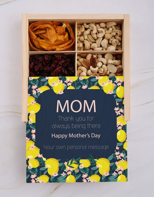 mothers-day: Personalised Mothers Day Nut Crate!